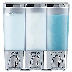 Clear Choice Distributeur Dispenser III, chrome