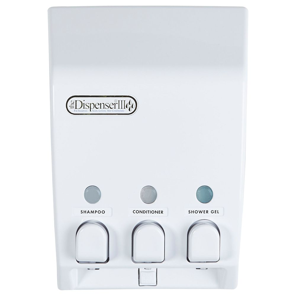 Classic Classic Triple Dispenser in White