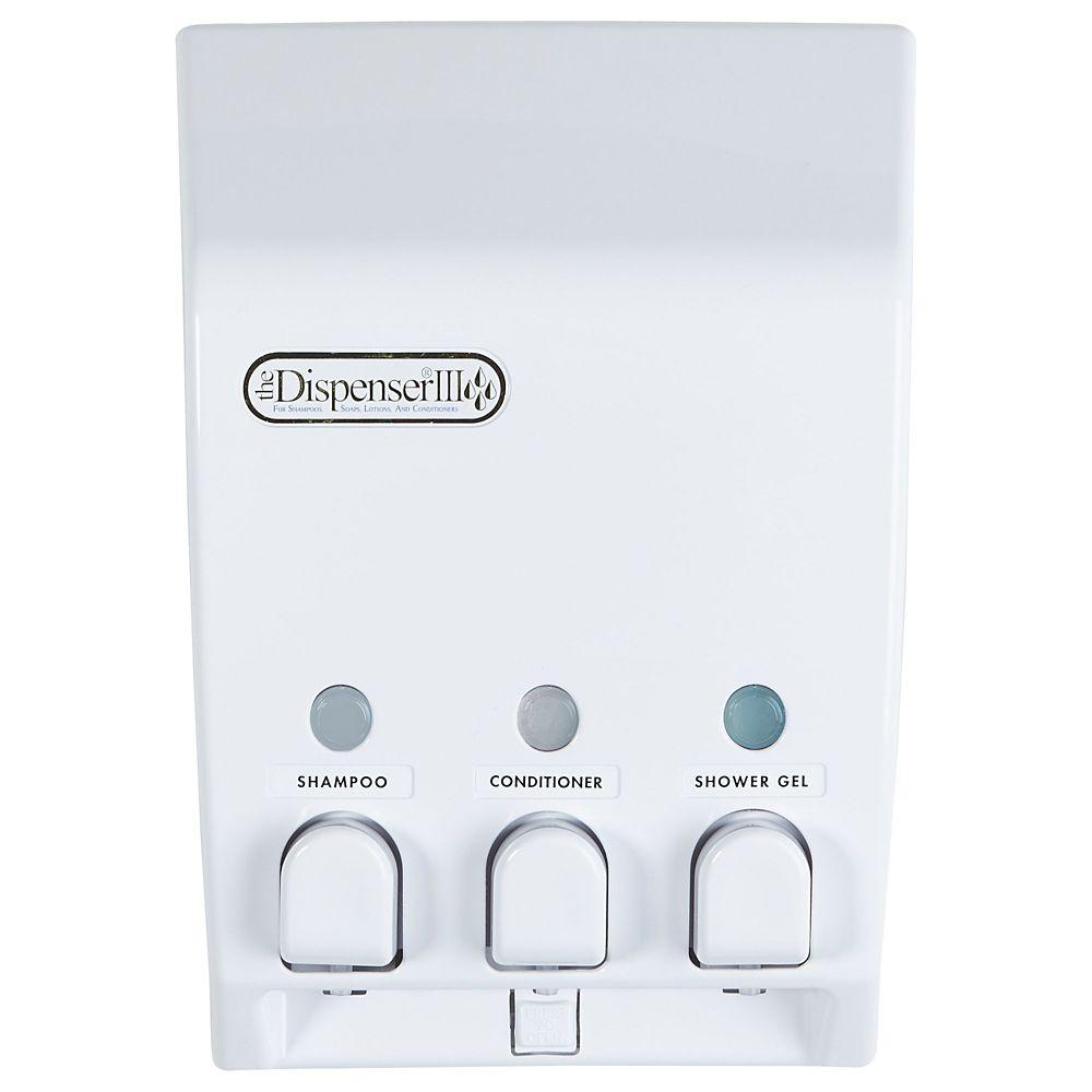liquid wall mounted bathroom shower loading s image soap shampoo holder bottle itm is dispenser