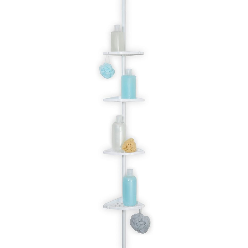 Shower Pole - White