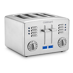 Metal Classic 4 Slice Toaster