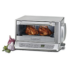 Brushed Chrome Convection Toaster Oven