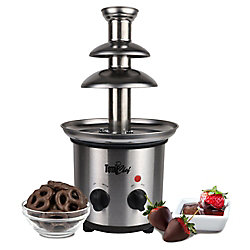 Total Chef 2 lb. Capacity Chocolate Fountain in Stainless Steel