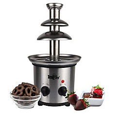 2 lb. Capacity Chocolate Fountain in Stainless Steel