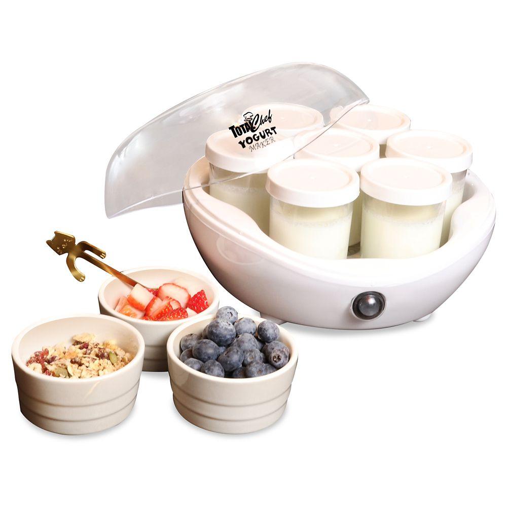 Total Chef Yogurt Maker - 7 Jars, White