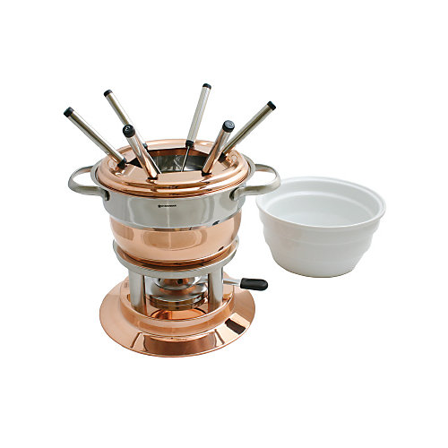 Service à fondue en cuivre Lausanne