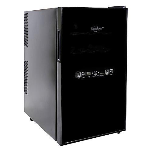 Koolatron Cellier à vin thermoélectrique de 18 bouteilles