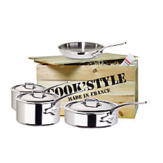 Cook'Style Stainless Steel Cookware Set