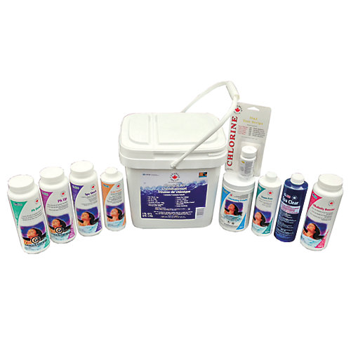 Deluxe Spa Starter Chemical Kit
