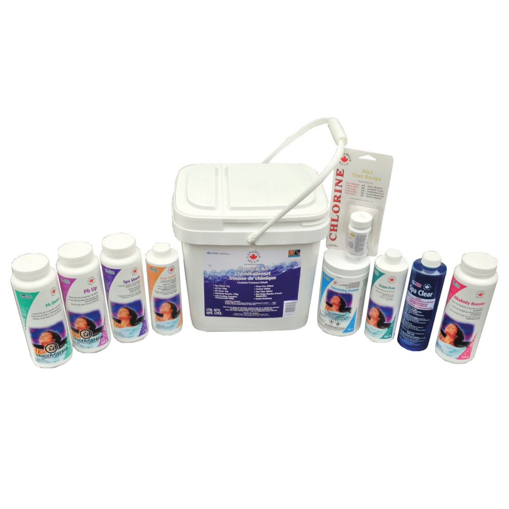 Canadian Spa Company Deluxe Spa Starter Chemical Kit