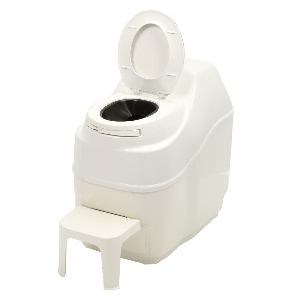 Excel Electric Composting Toilet in White