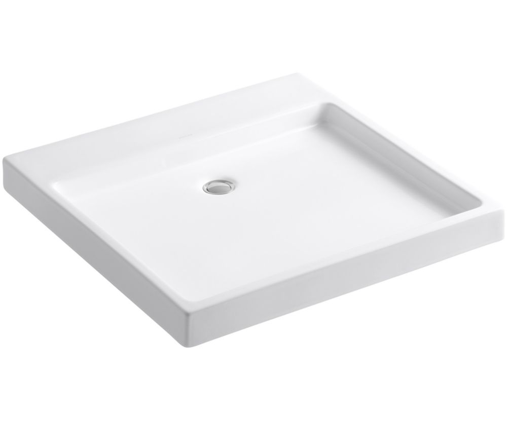 Purist Wading Pool Vessel Sink in White