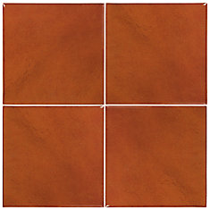 Terracotta Tile - 4 Piece