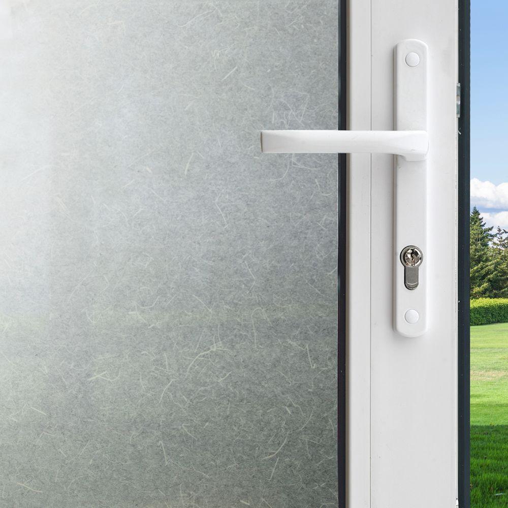 Pellicule Intimité pour fenêtre - Papier de riz 3 pi x 6,5 pi