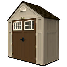 Blow Molded Storage Shed - (7 Ft. x 3 Ft.)