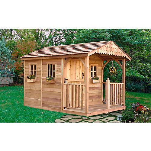 Garden Sheds Canada outdoor living today 8 ft. x 12 ft. santa rosa garden shed | the