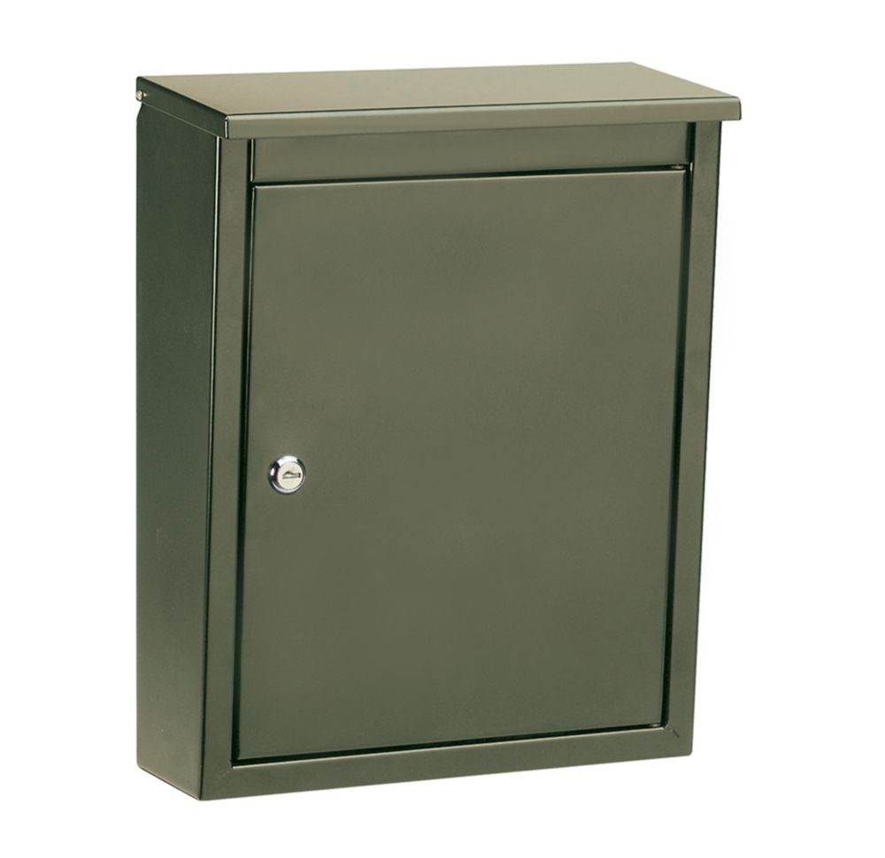 Architectural Mailboxes Saratoga Locking Wall Mount