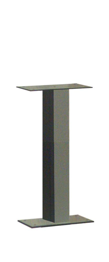 Poteau Standard à montage de type socle, couleur bronze