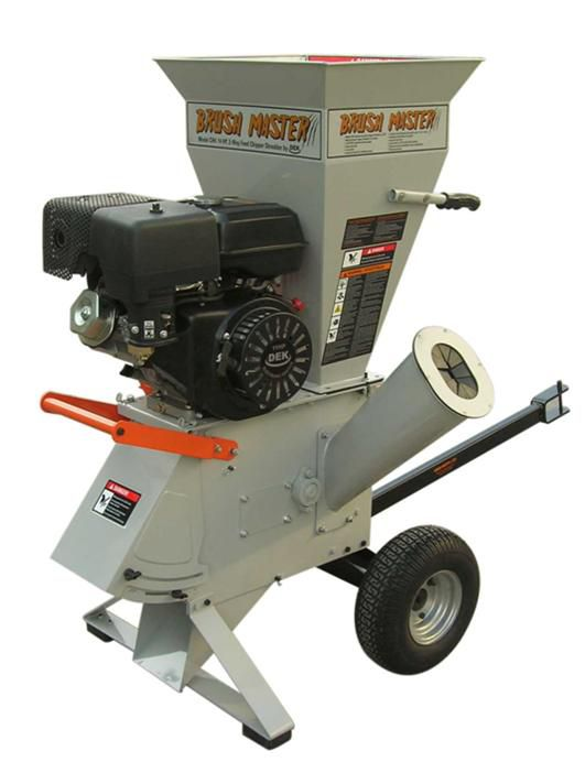 15 hp Commercial-Duty Chipper Shredder