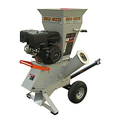 4-inch 15 HP Gas Powered Commercial-Duty Chipper Shredder