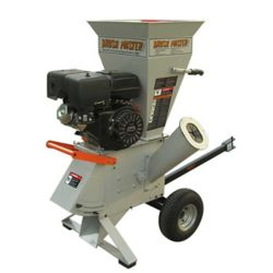 Brush Master 4-inch 15 HP Gas Powered Commercial-Duty Chipper Shredder