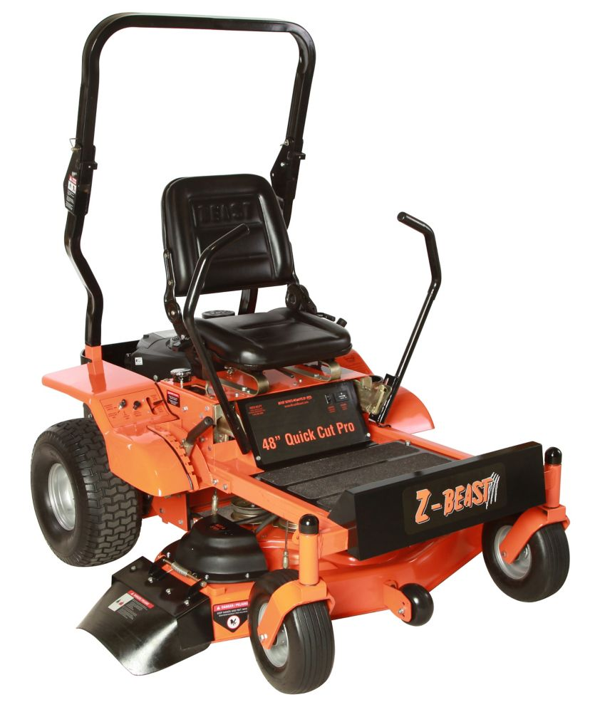 48 in. 20 HP B&S Pro Series Engine with Electric Start Zero Turn Mower