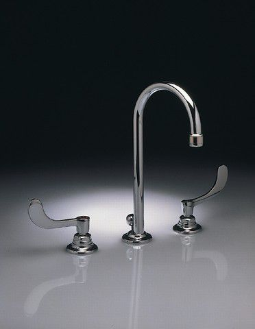 Monterrey 8-inch Widespread 2-Handle High-Arc Bathroom Faucet in Polished Chrome Finish