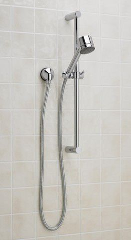 Serin Complete Shower System in Polished Chrome