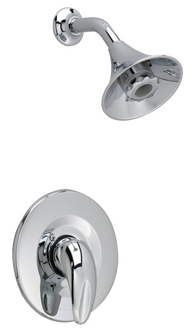 Reliant 3 Shower Faucet with Flo-Wise Water Saving Showerhead in Satin Nickel