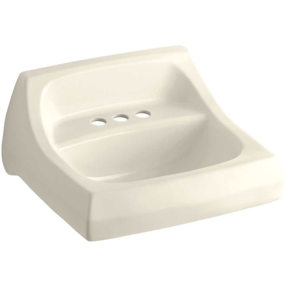 Kohler Chesapeake 19 1 4 Inch L X 17 1 4 Inch W Wall Mount Bathroom Sink In White The Home