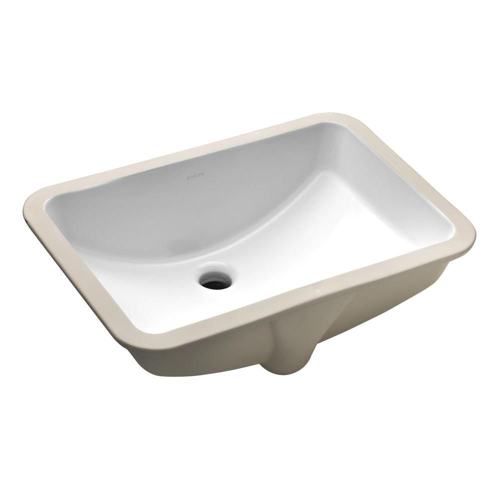 Ladena Undercounter Lavatory in White