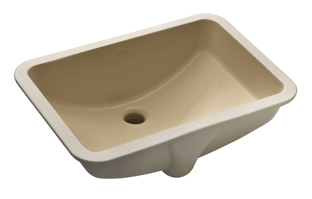 Ladena 20 7/8-inch L x 14 3/8-inch W Undercounter Bathroom Sink in Mexican Sand
