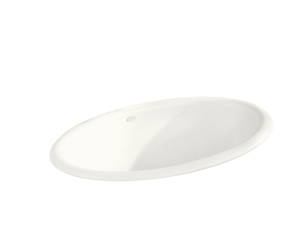 Vintage 24-inch L x 15-inch H Self-Rimming Bathroom Sink in White