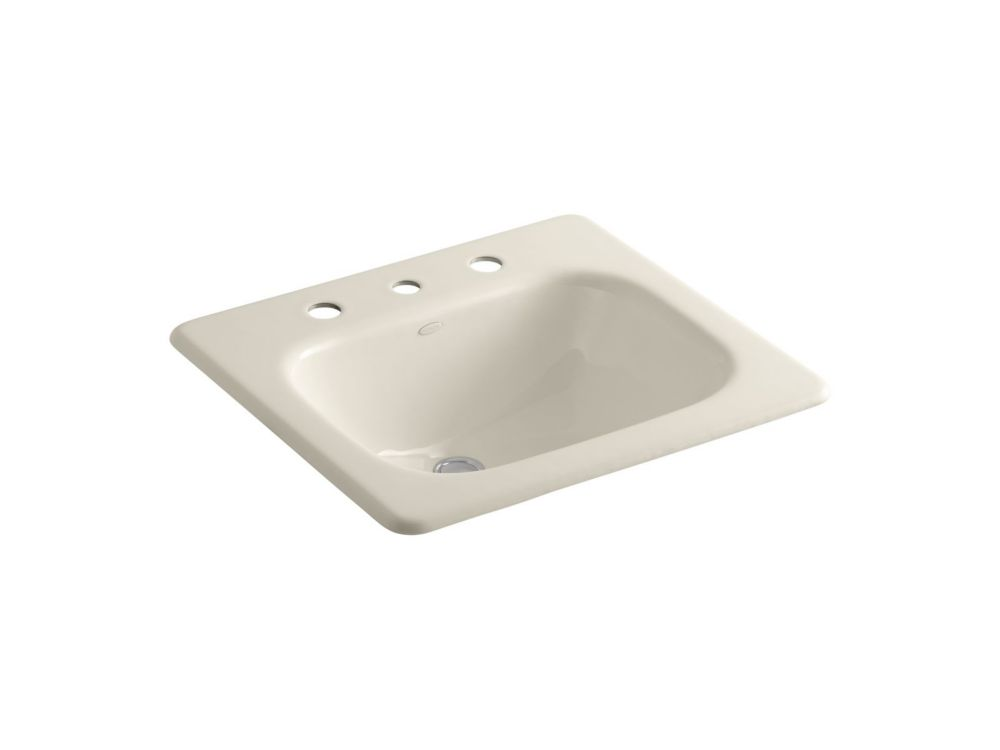 Tahoe Self-Rimming Bathroom Sink in Almond