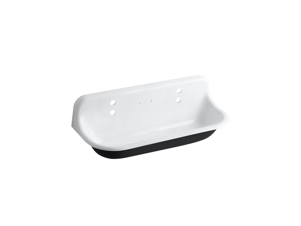 Brockway Wash Sink in White