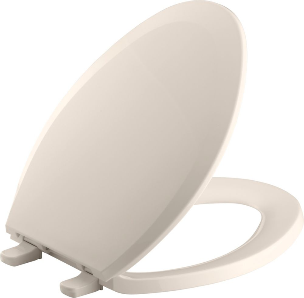 Lustra(Tm) Elongated Toilet Seat in Innocent Blush K-4652-55 Canada Discount