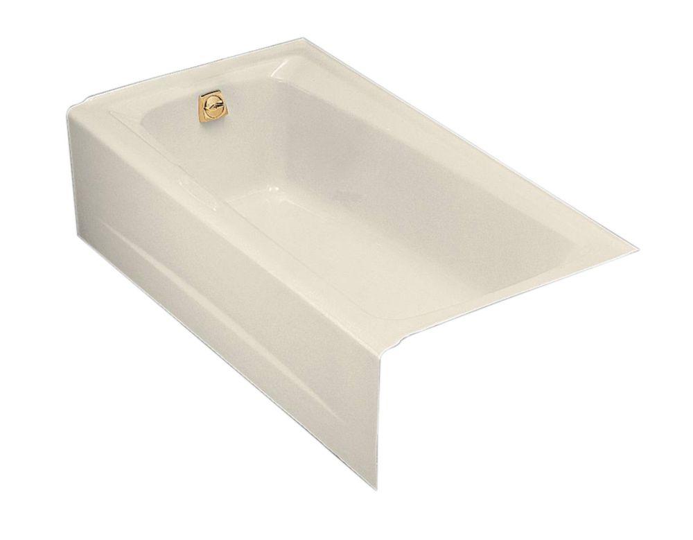 Mendota 5 Feet Bathtub in Almond