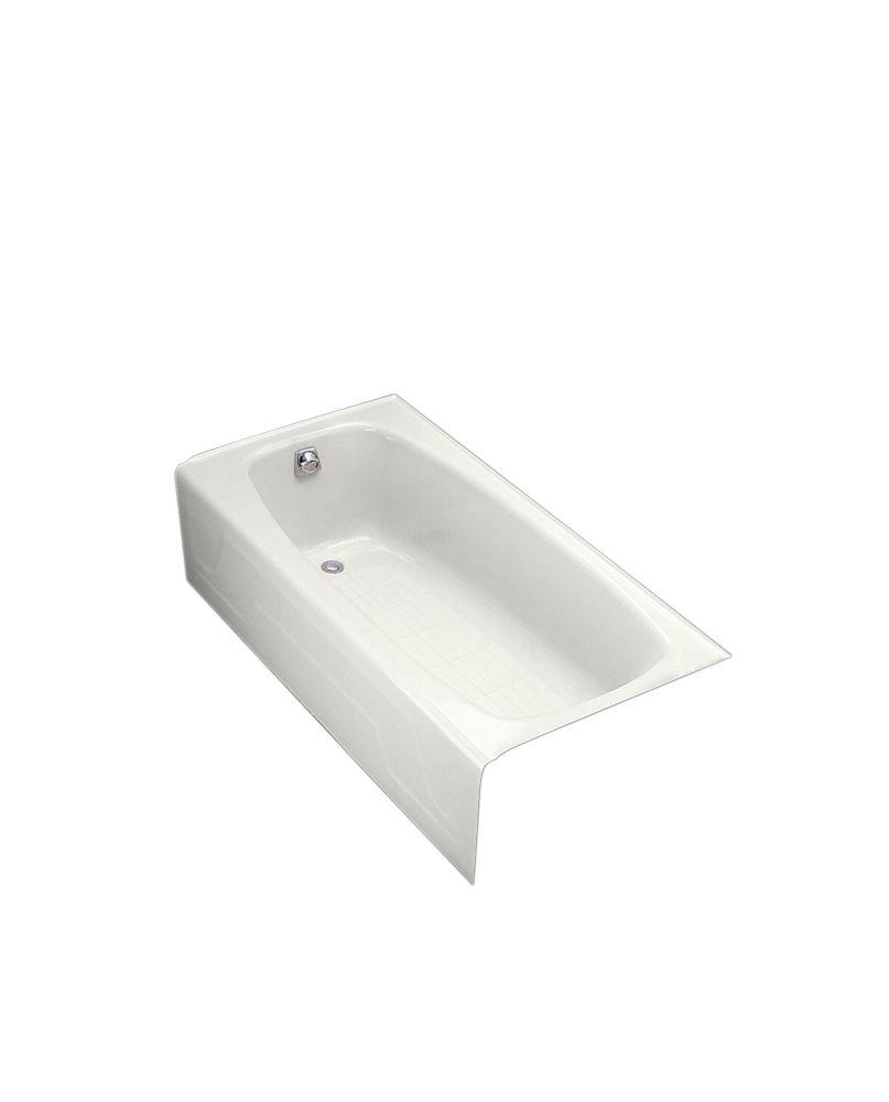 Dynametric 5 Feet 6-Inch Bathtub in White