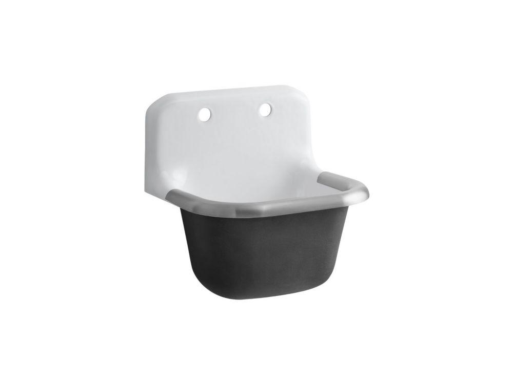 Bannon Service Sink in White