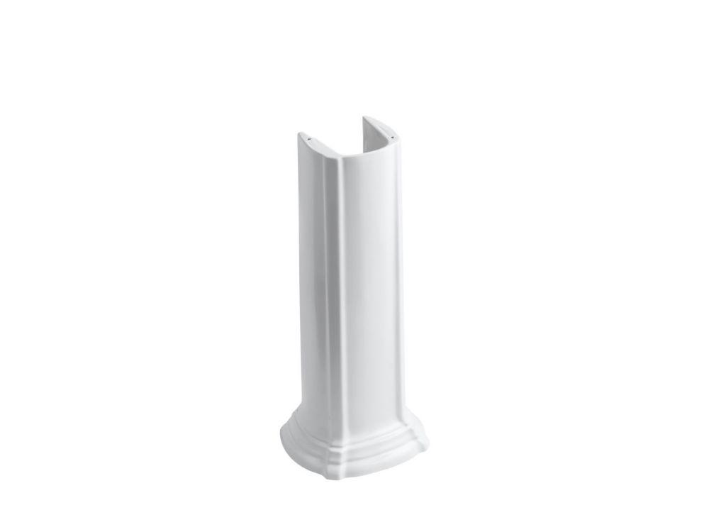 Portrait Bathroom Sink Pedestal in White