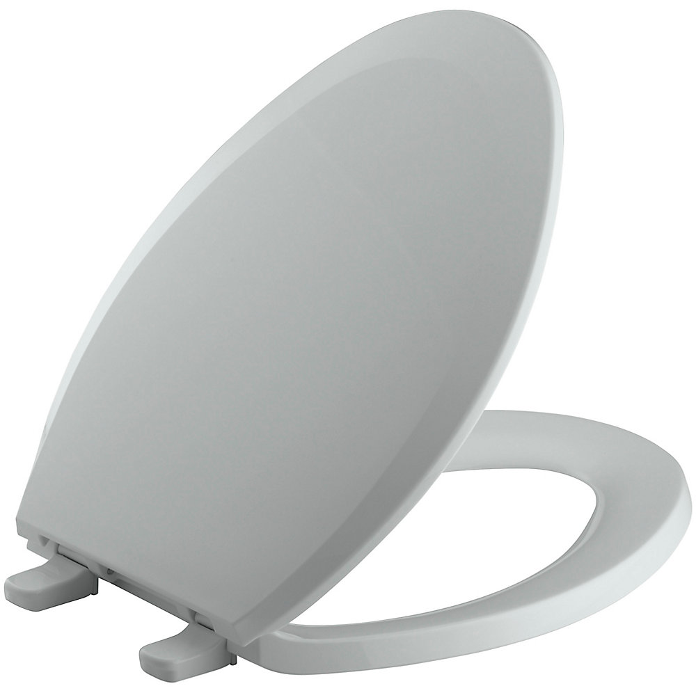 Kohler Lustra Elongated Closed Front Toilet Seat In Ice