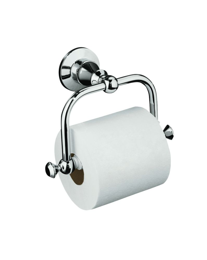 Antique Toilet Tissue Holder in Polished Chrome