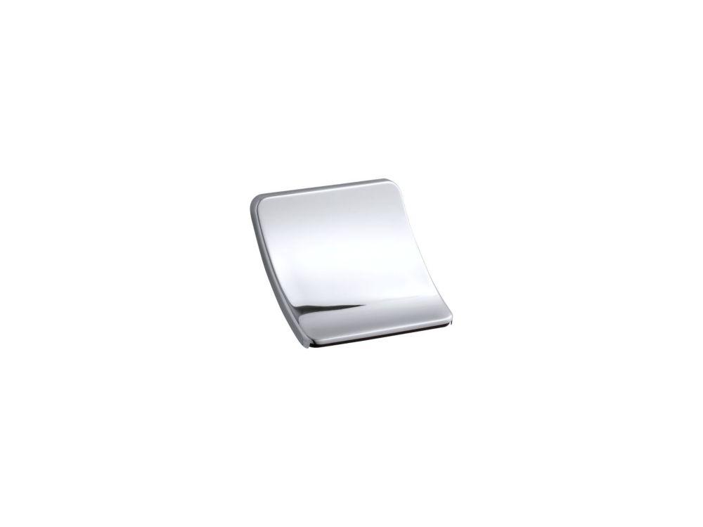 Souris Wall-Mount Sheetflow Non-Diverter Bath Spout in Polished Chrome