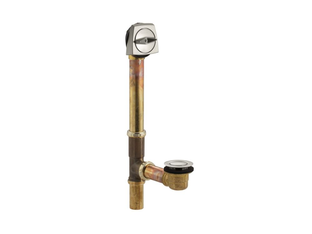 Clearflo 1-1/2 Inch Adjustable Pop-Up Drain in Vibrant Brushed Nickel