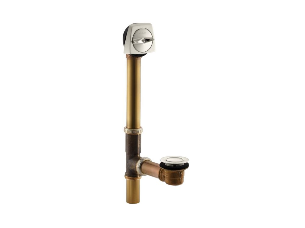 Clearflo 1-1/2 Inch Adjustable Pop-Up Drain in Vibrant Polished Nickel