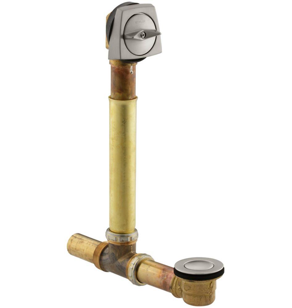 KOHLER Clearflo 1-1/2 Inch Adjustable Pop-Up Drain in Vibrant Brushed Nickel
