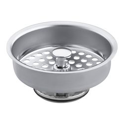 KOHLER Duostrainer Basket Strainer in Polished Chrome