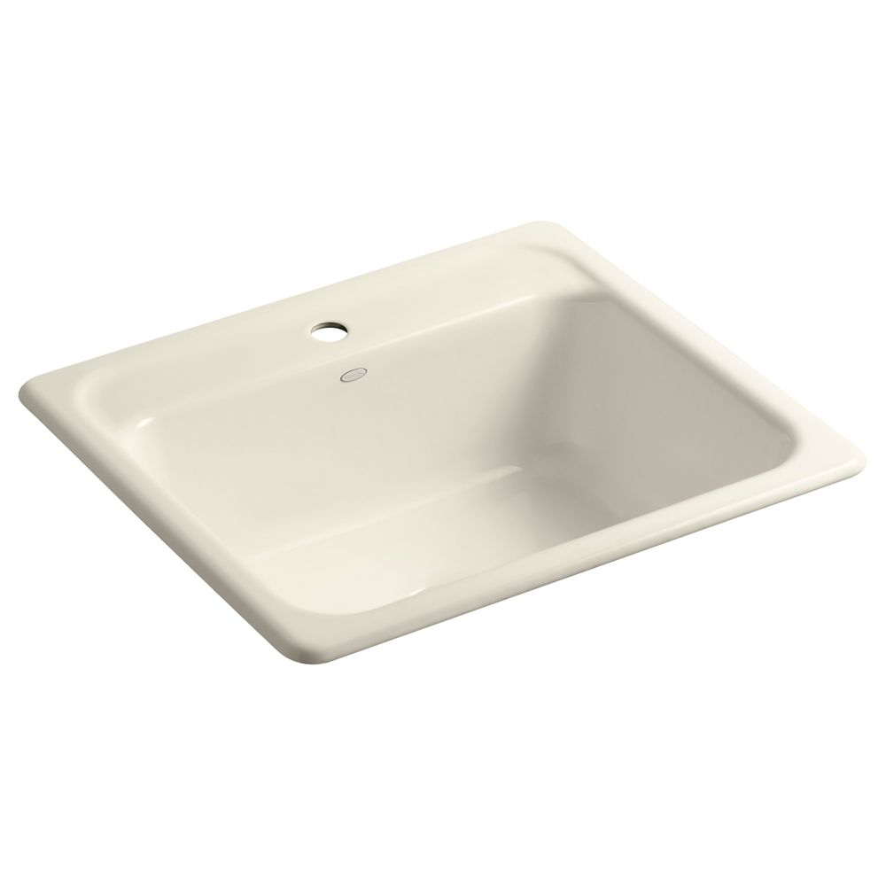 Mayfield(Tm) Self-Rimming Kitchen Sink in Almond
