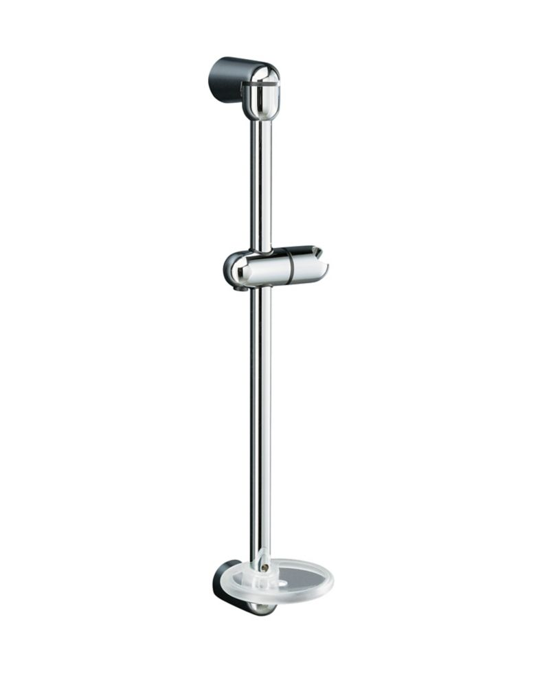 Mastershower 22-3/4 Inch Shower Slide Bar in Polished Chrome