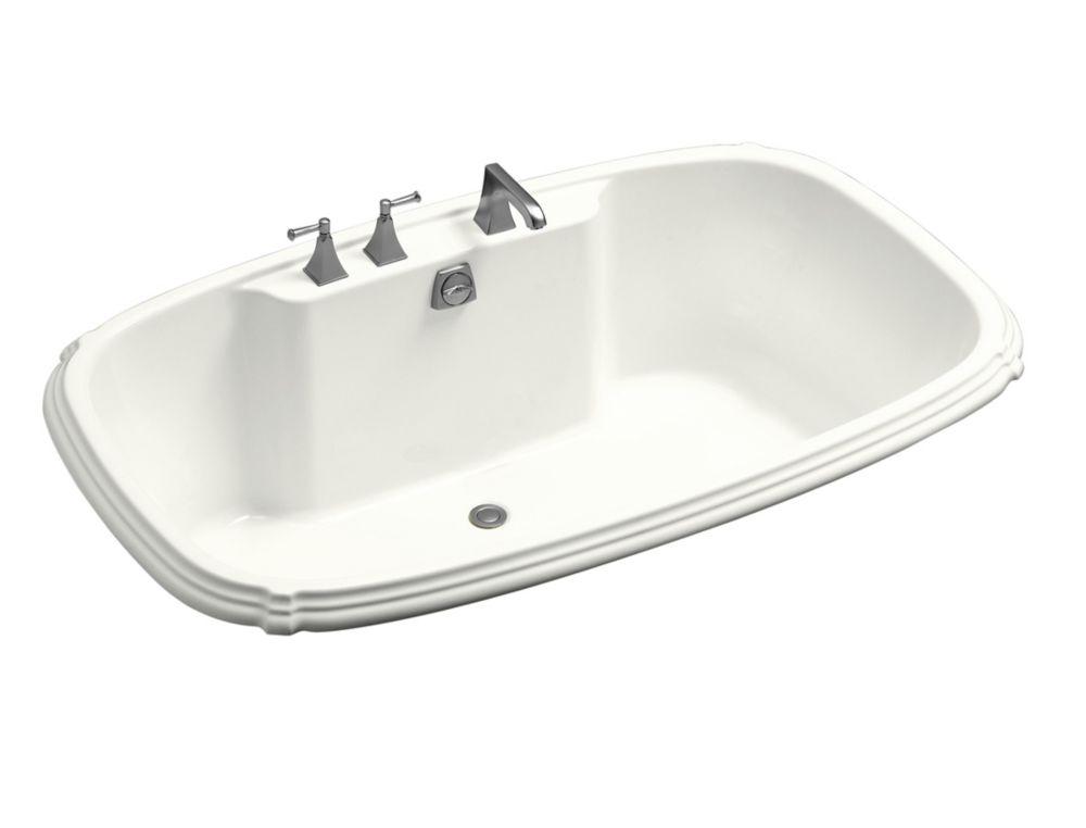 KOHLER Portrait 5 Feet 6-Inch Acrylic Drop-in Non Whirlpool Bathtub in White
